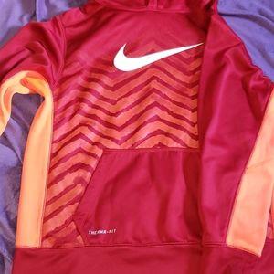 Boys XL Therma-Fit  Nike Red Hoodie